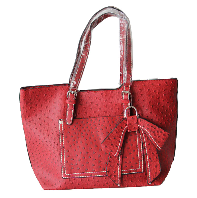 Red Leather Totes For Women