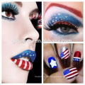 Adhesive Tattoos for Skin, Lipstick Tattoo Sticker para Cosmetic con material no tóxico