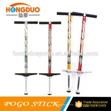Jumping pole pogo stick