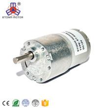 Motores pequenos do diâmetro 37mm do motor da caixa de engrenagens do motor pequeno da CC