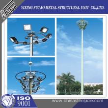 Factory source manufacturing for 30ft Galvanized Steel Pole 30M High Mast Lighting Tower supply to Italy Factories