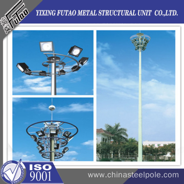 OEM octagonal high mast pole