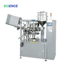 Máquina envasadora de tubos de alta eficiência para protetor labial