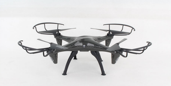 Carbon-fber-drone