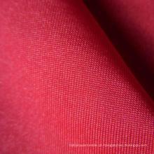 100d 14% Spandex 86% poliéster 4 Way Stretch tecido liso