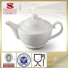 Wholesale juegos de té alemanes, tetera de cerámica blanca