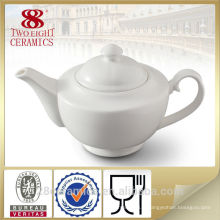 En gros ensembles de thé allemand, théière en céramique blanche