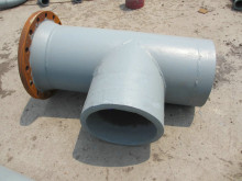 Bimetallic Wear Resistance Ash conveying pipe
