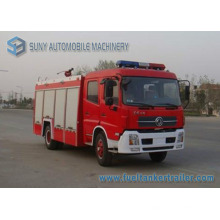 Camion de lutte contre l'incendie de réservoir d'eau et de réservoir de mousse de Dongfeng 6m3l 4X2
