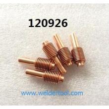 120926 plasma cutter consumables Electrode
