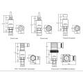 Transmissor de pressão industrial universal FST800-211 4-20mA