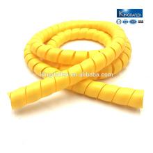 Manches en plastique de tuyau de spirale résistantes abrasives de grand diamètre / garde de pp