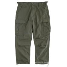 Pantalons à poches multiples Vêtements usés