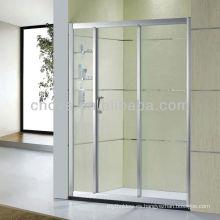 armario de ducha de vidrio templado para baño D22