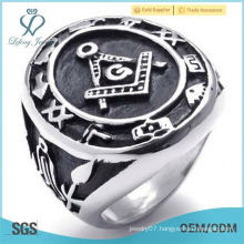 NEW MENS MASONIC FREEMASON 316 STAINLESS STEEL AGATE RING