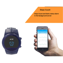 GPS Watch Locator Positionering Personlig Tracker Phone
