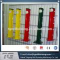 Clôture en maille soudée avec fabrication de colonnes de type pêche en Chine
