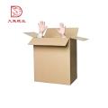 Le dernier emballage jetable fait sur commande portatif de boîte de carton ondulé