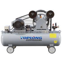 Piston Reciprocating Belt Driven Air Compressor Air Pump (V-0.6/8)