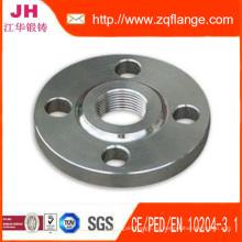 Ss41 Bridas de acero al carbono JIS 5k / 10k / 16k / 40k Dn10-Dn1500