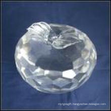 Crystal Apple Paperweight (JD-BJ-007)