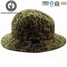 Fashion Cool Green Leaf Cotton Winter Autumn Bucket Hat