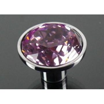 Clear Crystal Ball Furniture Knob (JD-KN-A025)