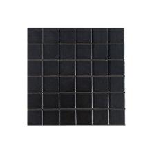 Tuiles de piscine en céramique noire mosaïque à vendre
