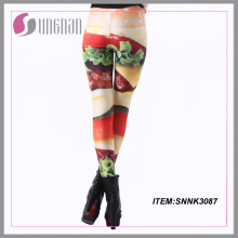 2015whloesale Leggings imprimés personnalisés Sexy Fitness pour les filles