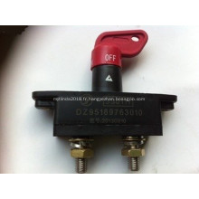 81.25506.6033 DZ95189763010 Interrupteur de batterie pour camion Shacman