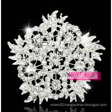 promotion rhinestone flower china brooch