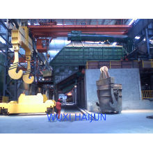 Melting Induction Furnace , 250 / 500 Hz Metal Casting Furnace