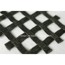 Fabrik Preis 30 Kn / M Warp Knitting Polyester Geogitter im Abutment verwendet