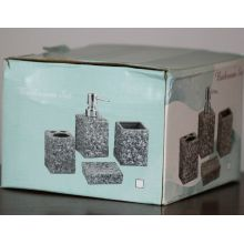 4 PC Ceramic Bath Set