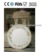 Oriente Medio porcelana de hueso de cerámica de mesa plato de cena placa