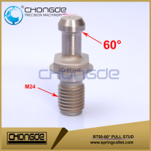 High Quality Silver color BT50 60degree Pull Studs