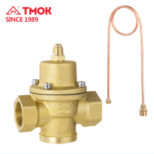 Natural color Differential Pressure Control Brass Valve