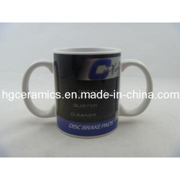 Sublimation Double Handle Mug