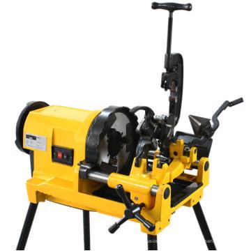 Máquina de roscado de tubos eléctricos portátiles