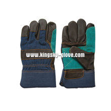 Furniture Leather Double Plam Working Glove-4029