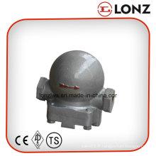 Purgeur de vapeur de type flotteur à bille de levier d'extrémité de fil / vis