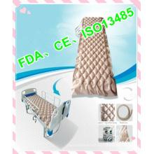 Super silent hospital medical air mattress with compressor pump anti decubitus