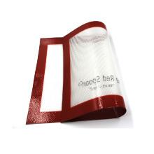 Estera para hornear de silicona de tamaño completo personalizada para parrilla