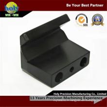 Usinage en plastique noir usiné par commande numérique par ordinateur de commande numérique par ordinateur de commande numérique par ordinateur