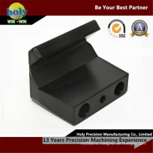 Black Plastic CNC Milled Parts CNC Plastic Custom CNC Machining