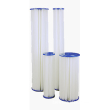 Pleated Polyester/Cellulose Water Filter Cartridge