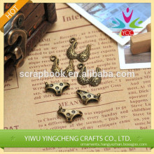 pendant metal decoration iron metal sticker scrapbook