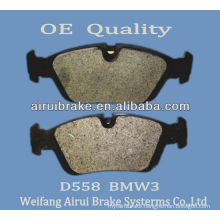 clean brake pad D558 for BMW