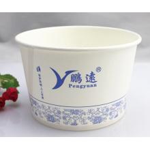 Bacia de papel dos macarronetes imediatos do recipiente de alimento Eco-Amigável, descartável, abastecido