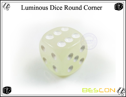 Luminous Dice Round Corner2
